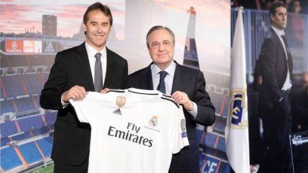 Presentación de Julen Lopetegui con el Real Madrid. Foto: El Confidencial