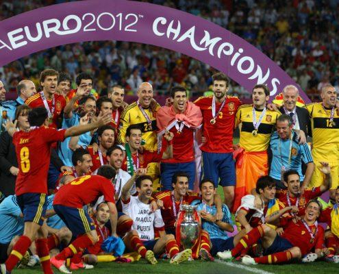 España en la Eurocopa 2012