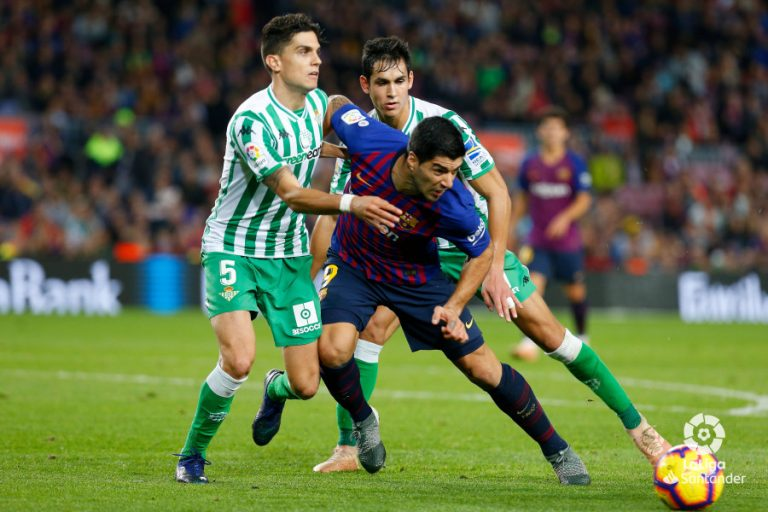 Barça 2 Betis 4 2018-19