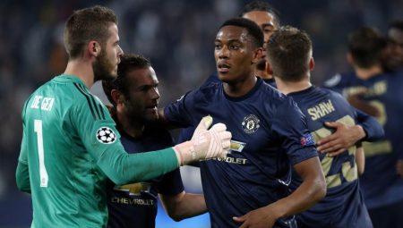 jugadores que acaban contrato en 2019: De Gea Mata Martial Manchester United