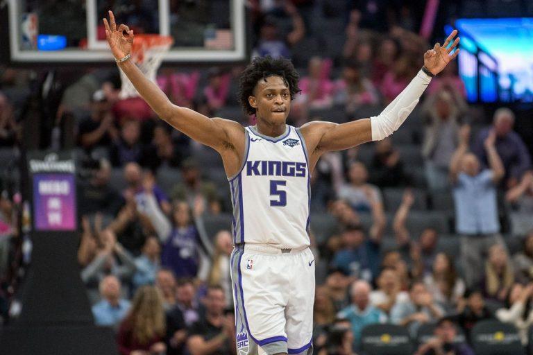 De'Aaron Fox Sacramento Kings