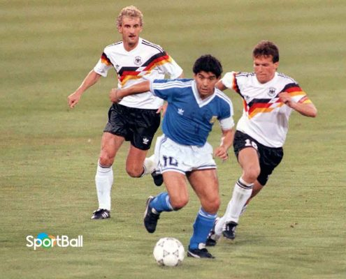 Final Mundial Italia 90 Alemania Argentina Maradona Matthäus Völler