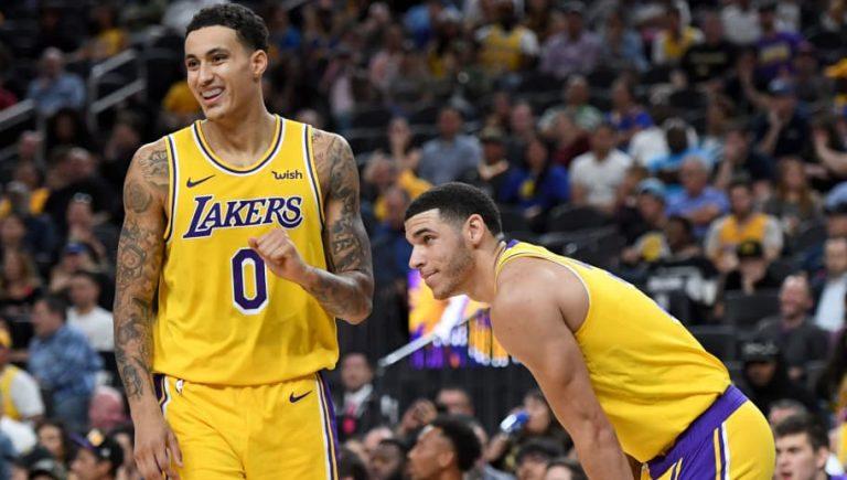 últimos drafts de los Lakers: Kyle Kuzma Lonzo Ball