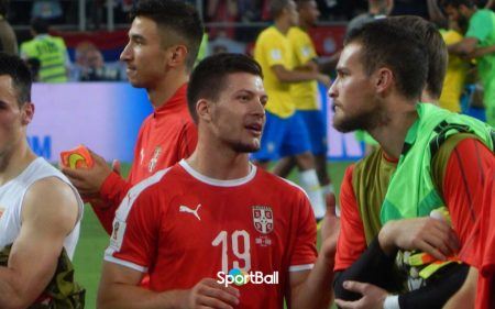 Luka Jovic Selección Serbia