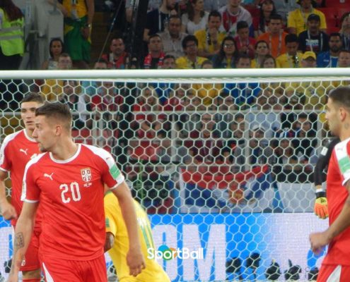 Milenkovic, Milinkovic-Savic, Mitrovic Selección Serbia
