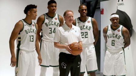 Milwaukee Bucks Brogdon Antetokounmpo Budenholzer Middleton Bledsoe
