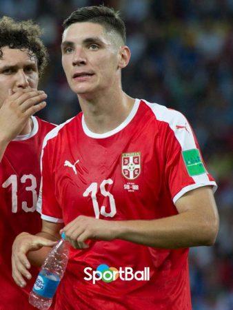 Nikola Milenkovic Selección Serbia