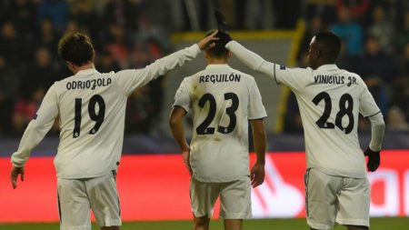 Odriozola Reguilón Vinicius Real Madrid de Solari