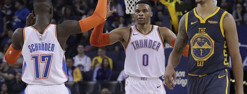 Schroder Westbrook Oklahoma City Thunder 2018-19