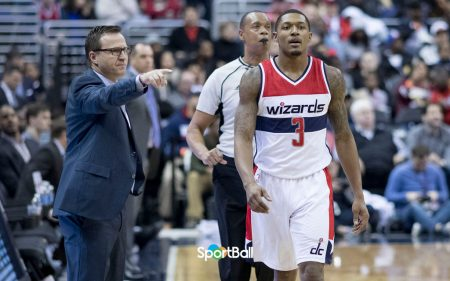 Scott Brooks Bradley Beal Washington Wizards