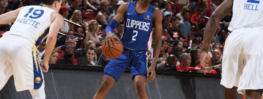 Shai Gilgeous-Alexander Los Angeles Clippers 2018-19