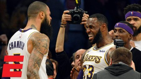 Tyson Chandler LeBron James Lakers