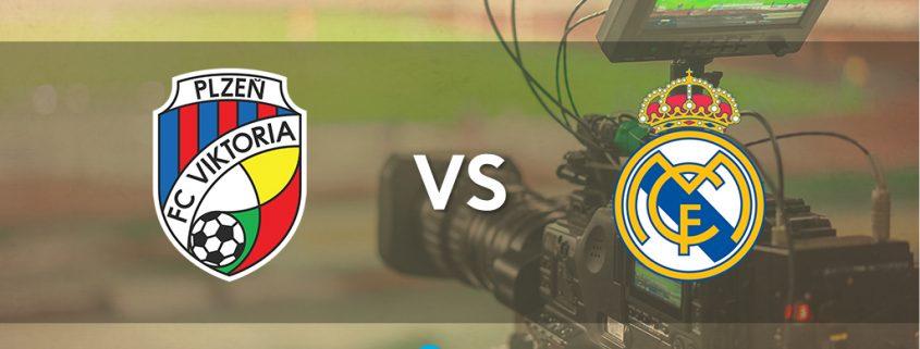 Champions League Viktoria Plzen vs Real Madrid