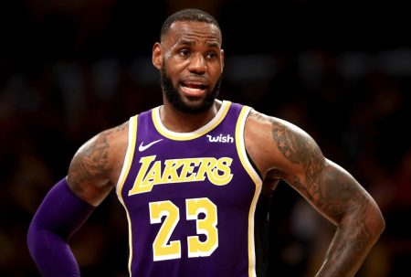 LeBron James Lakers 2018