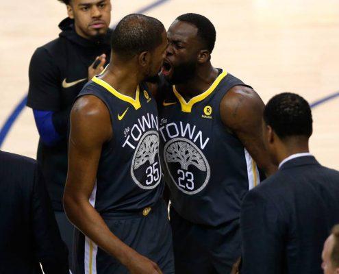 pelea entre Green y Durant