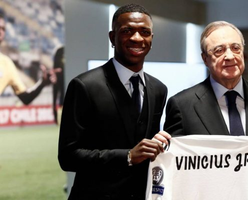 Vinícius Junior presentación Real Madrid