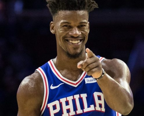Jimmy Butler Sixers 2018-19