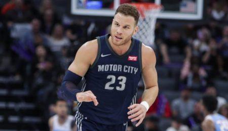 Blake Griffin Detroit Pistons 2018