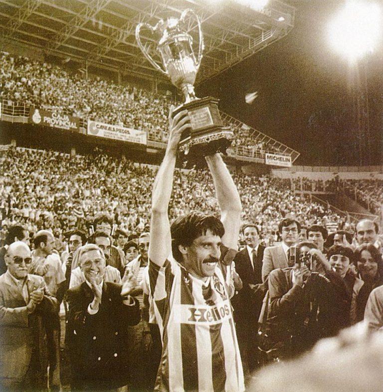 Copa de la Liga del Real Valladolid en 1984