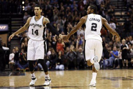 Danny Green Kawhi Leonard San Antonio Spurs