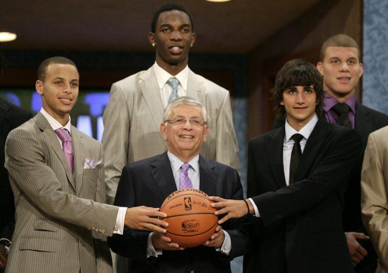 Draft de la NBA 2009 Stephen Curry, Hasheem Thabeet, Ricky Rubio, Blake Griffin