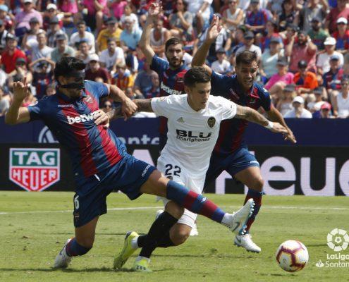 Estadísticas de Santi Mina Valencia 2018-19