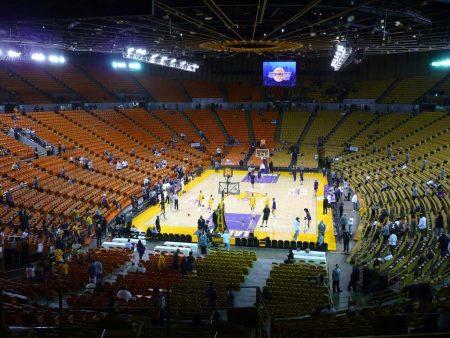 Great Western Forum in Inglewood Lakers