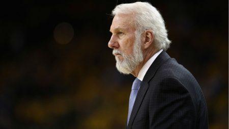 Gregg Popovich San Antonio Spurs 2018-19