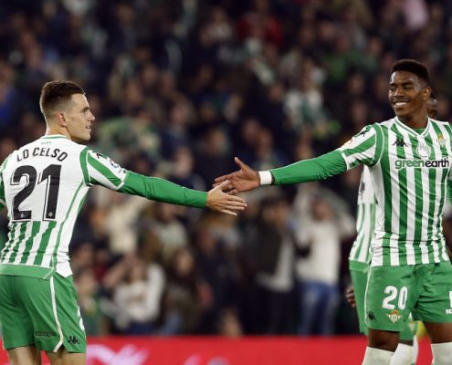 Lo Celso Junior Firpo Real Betis 2018