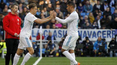 Marcos Llorente Casemiro Real Madrid