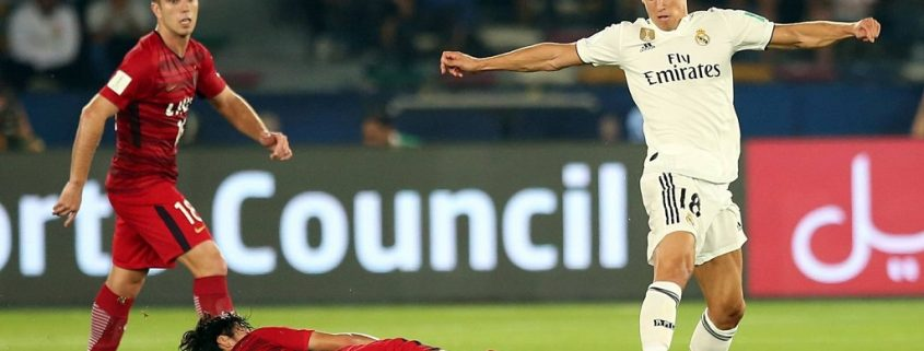 Marcos Llorente Real Madrid Mundial de Clubes