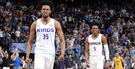 Marvin Bagley III y De'Aaron Fox Sacramento Kings