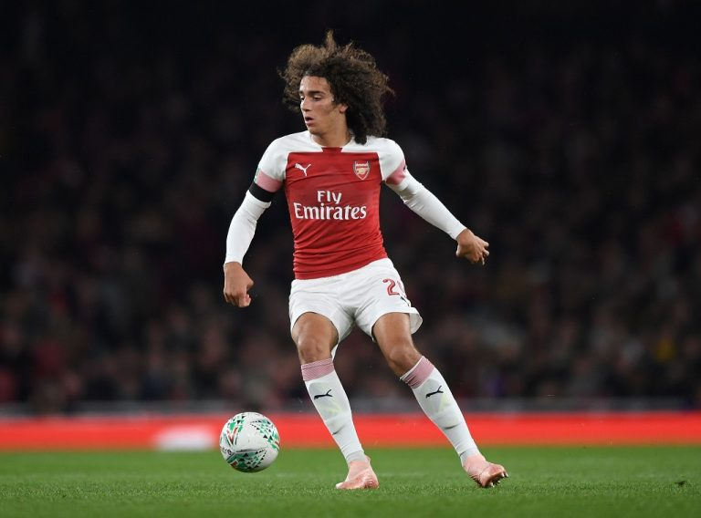 Matteo Guendouzi Arsenal 2018-19