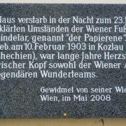 Quién era Matthias Sindelar, el jugador que se rebeló ante el nazismo