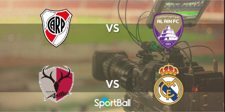 Mundial de Clubes 2018 Al-Ain River Plate Kashima Antlers Real Madrid