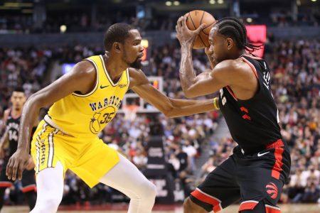 Favoritos al anillo de la NBA 2019: Warriors Raptors Durant Leonard 2018-19