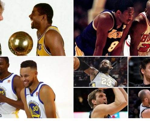 Comparación NBA actual y los 80 y 90