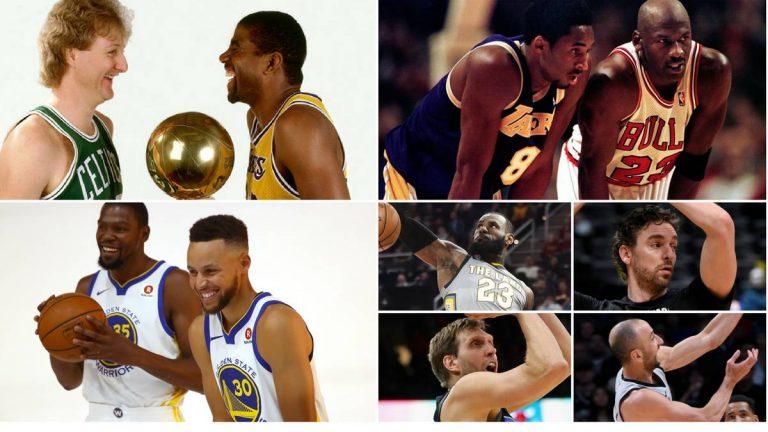 Comparación NBA actual y los 80 y 90