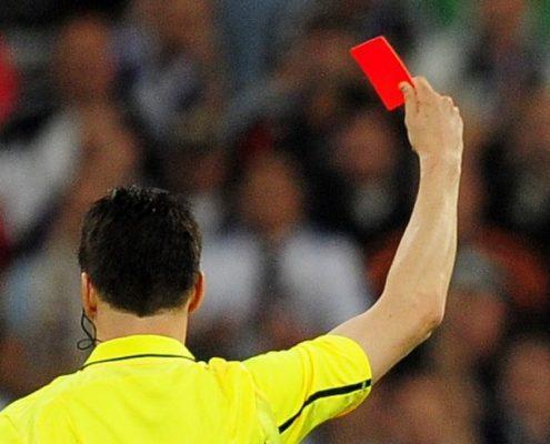 huelga de árbitros en Grecia