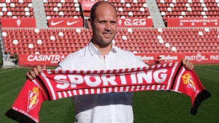 Jose Alberto entrenador Sporting de Gijón