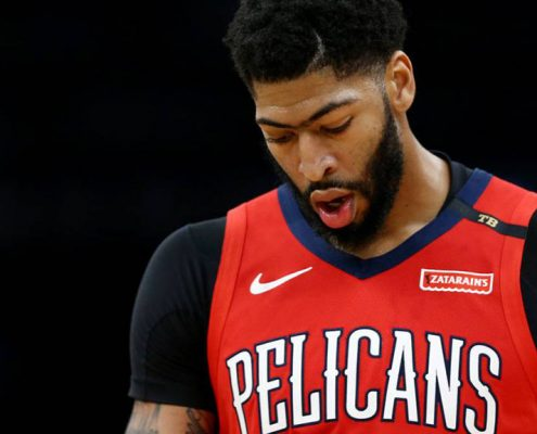 Anthony Davis New Orleans Pelicans 2018-19