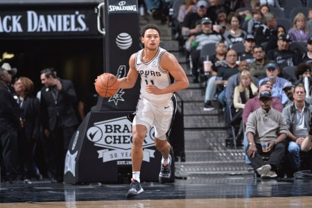 Bryn Forbes San Antonio Spurs 2018-19