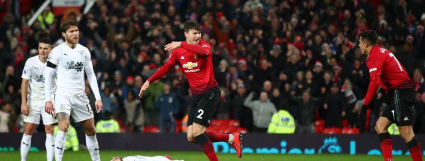 Burnley 2 Manchester United 2 - Jornada 24 Premier League