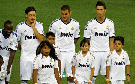Bwin llegó a ser patrocinador del Real Madrid.