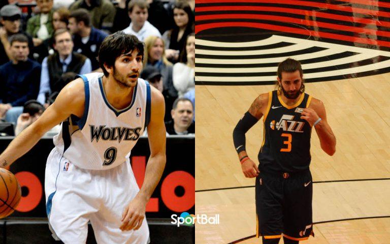 Comparación Ricky Rubio Minnesota Timberwolves vs Utah Jazz