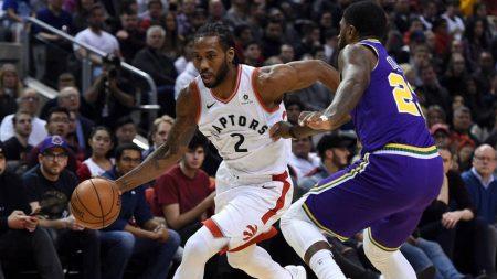 Estadísticas 2018-19 de Kawhi Leonard en los Raptors