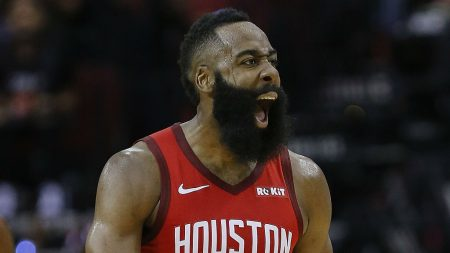 Estadísticas de James Harden 2018-19