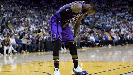 Lesión de LeBron James en la ingle con los Lakers