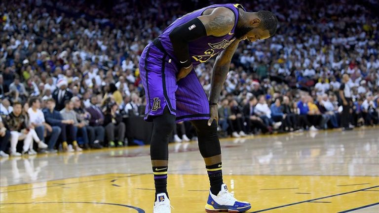 Lesión de LeBron James en la ingle con los Lakers