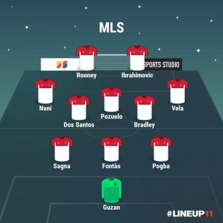 Este sería el 11 ideal con los mejores jugadores de la MLS.